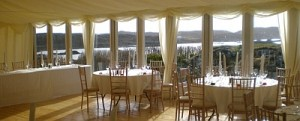 Wedding marquee hire throughout west and central Scotland