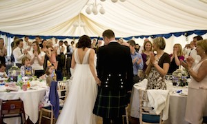 Marquee hire for small weddings, parties, anniversaries