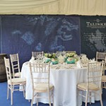 Limewash Chiavari with Ivory Pad