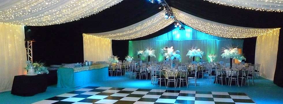 marquee ceiling lighting