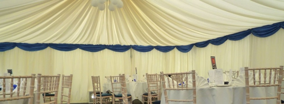 Internal Marquee for Glasgow Company Staff Christmas Lunch