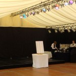 Finlaystone Wedding Stage Area