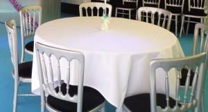 6ft trestle tables for marquee events.