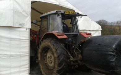 Argyll Farmer - Temporary Storage Marquee