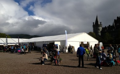 Tents and Events marquees at Inveraray Castle