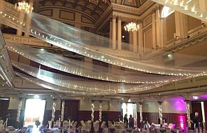 eventsdecor interior at Paisley Town Hall