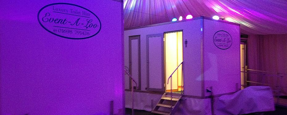 Marquee toilet hire Scotland