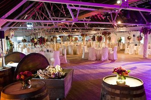 Wedding marquee interior from 88 Events