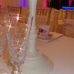 Marquee Crystal Table Decoration