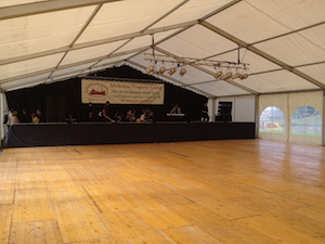 Direct lay marquee flooring Tents and Events marquee hire Scotland