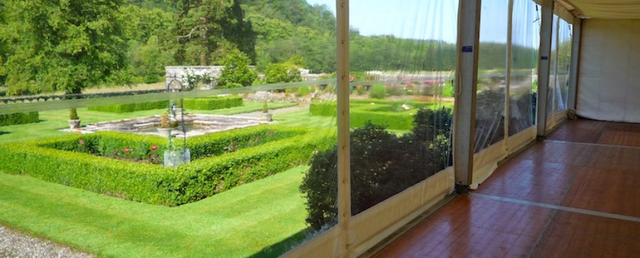 Duntreath Panoramic Marquee Windows