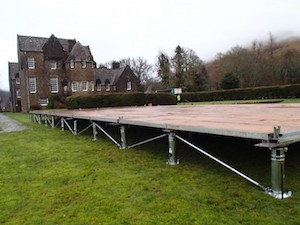 Floor Stak marquee flooring Tents and Events marquee hire