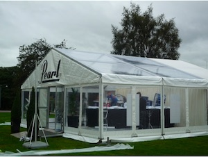 Marquee clear roof World Pipe Band Championships