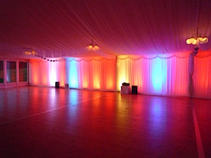 Marquee Lighting For Hire Tents And Events
