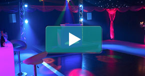 Watch our Party and Disco Marquee video