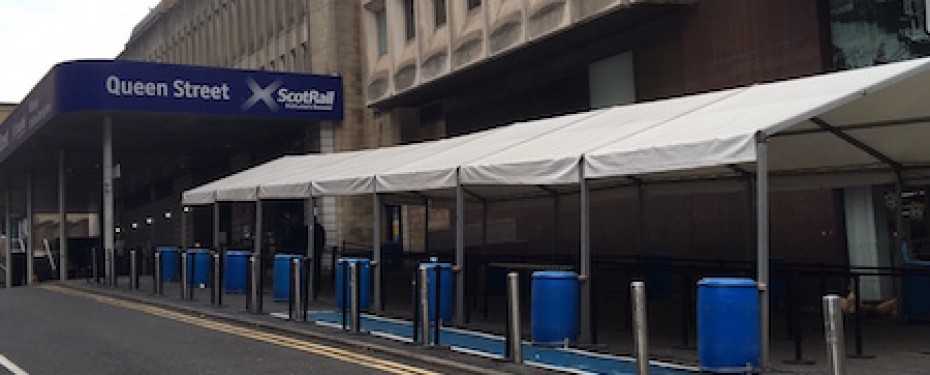 Scot Rail refurbishment, Queen Street Station