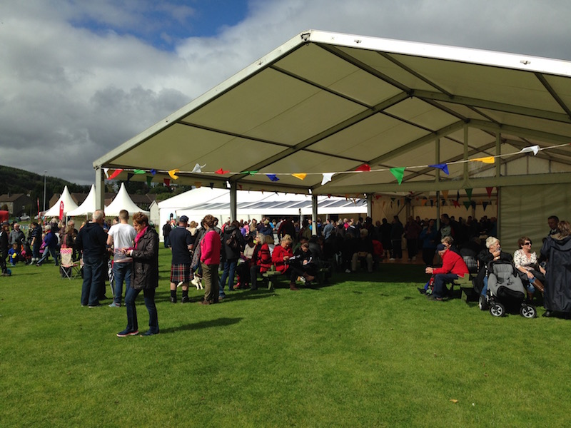 Cowal Highland Gathering - top field events