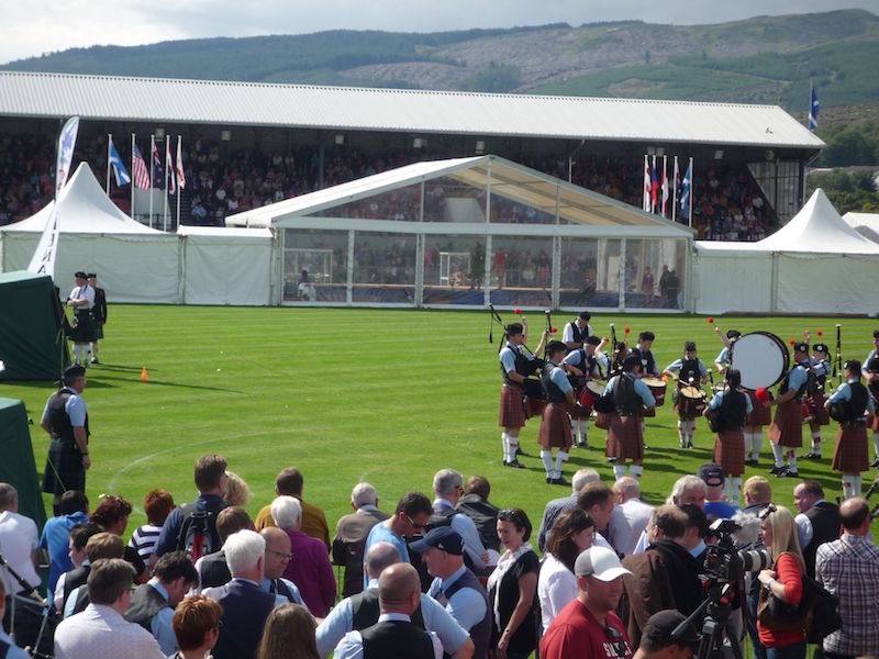 Cowal Highland Gathering Main Dance Platform