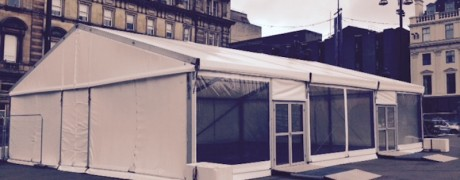 marquee George Square Glasgow