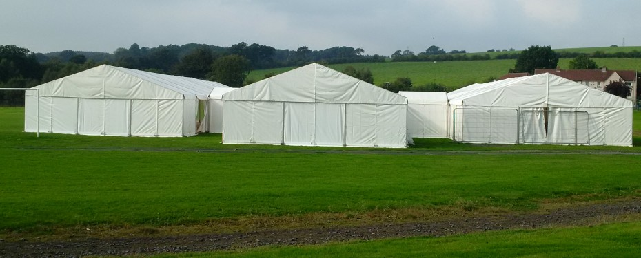 Newmilns Food Festival set of Marquee's