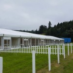 Event Marquee at Blair International Horse Trials