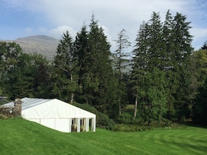 Ardanaiseig Hotel at Kilchrenan, Argyll. A superb wedding venue.