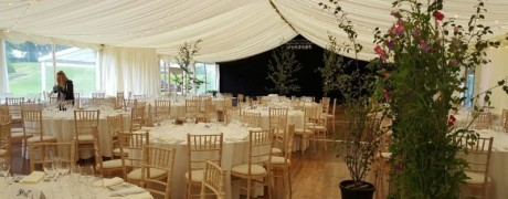 High Wards marquee wedding
