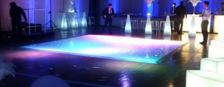 21st Birthday Party Marquee Dancefloor Bothwell