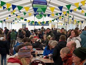 Loch Fyne Food Fair marquee