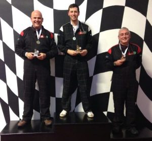 Tents and Events Driver's Trophy Team 2016 winner's podium