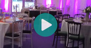 Watch our interior decor for marquee's