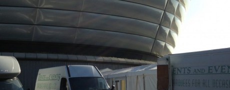 Tents and Events at the SSE Hydro