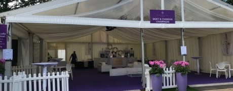 Moet & Chandon Champagne Bar marquee