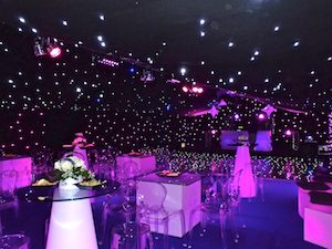 Party marquee lighting dance floor lighting