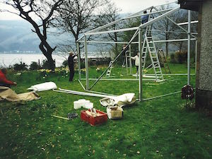 Tents and Events First Marquee - April 1998